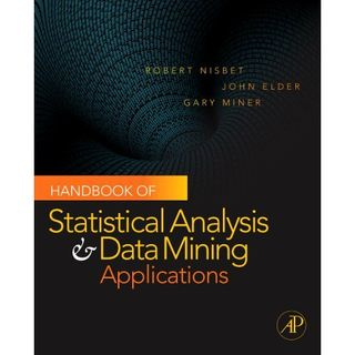 20091120 Handbook of Statistical Analysis