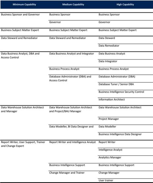2010 Team Roles